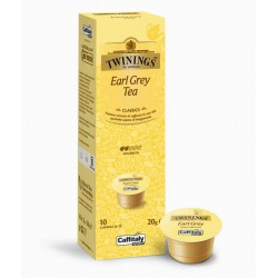 BOX 10 CPS CAFFITALY TWININGS EARL GREY TEA