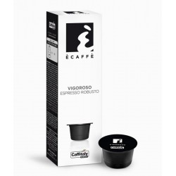 BOX 10 E\' CAFFE\' VIGOROSO Espresso Robusto